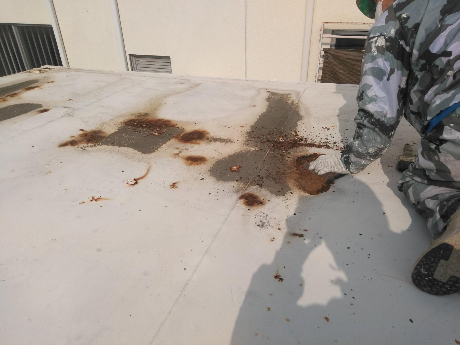 倉庫屋根塗装画像3