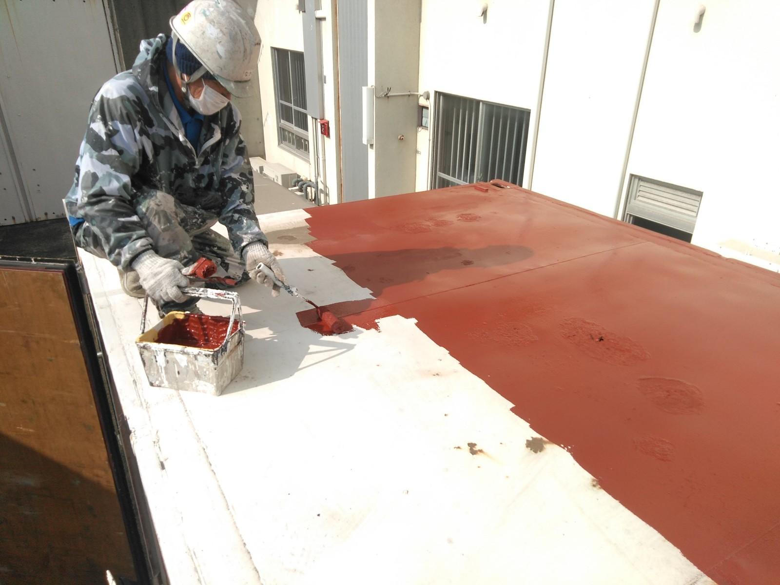 倉庫屋根塗装画像4