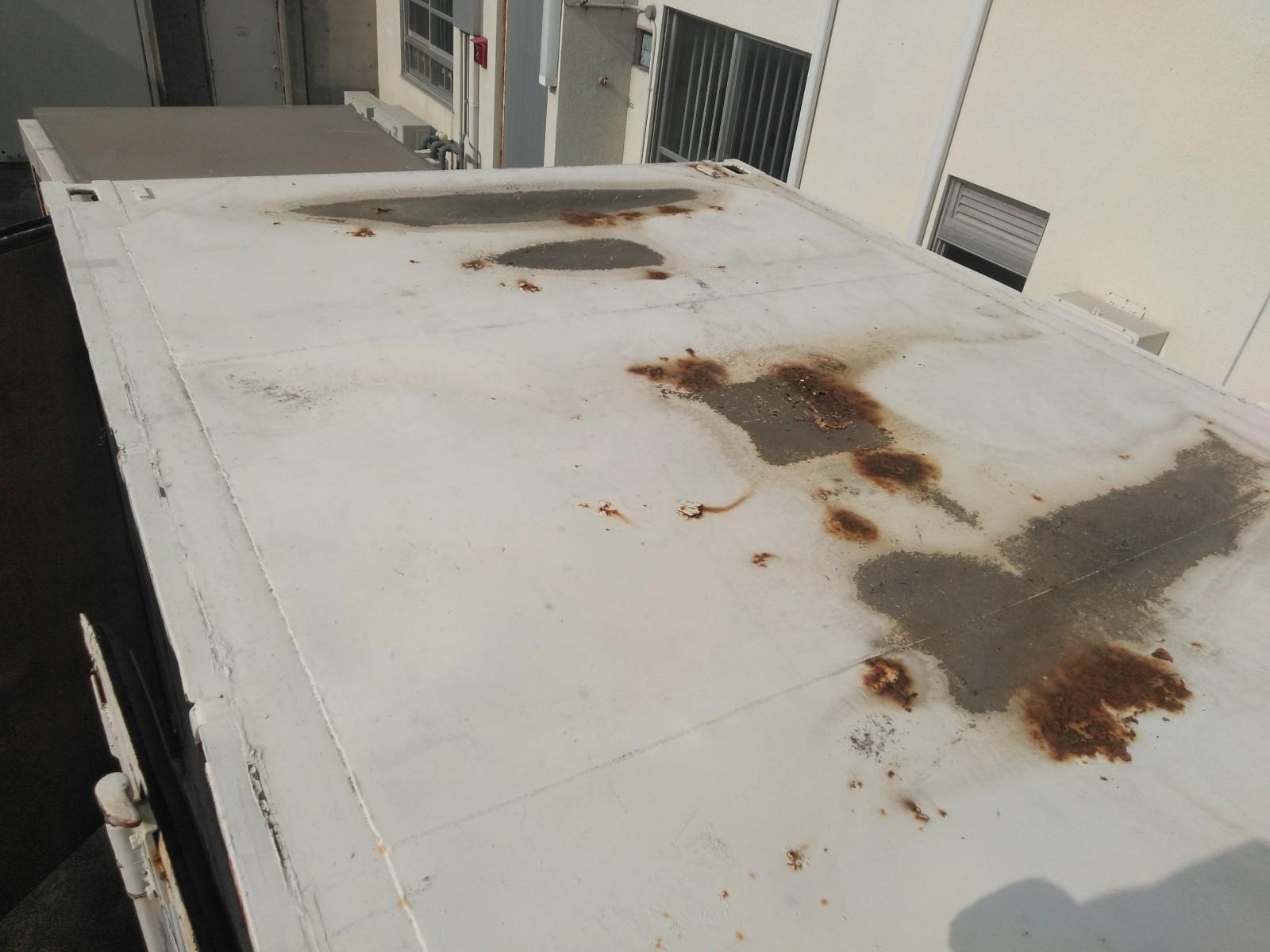 倉庫屋根塗装画像2