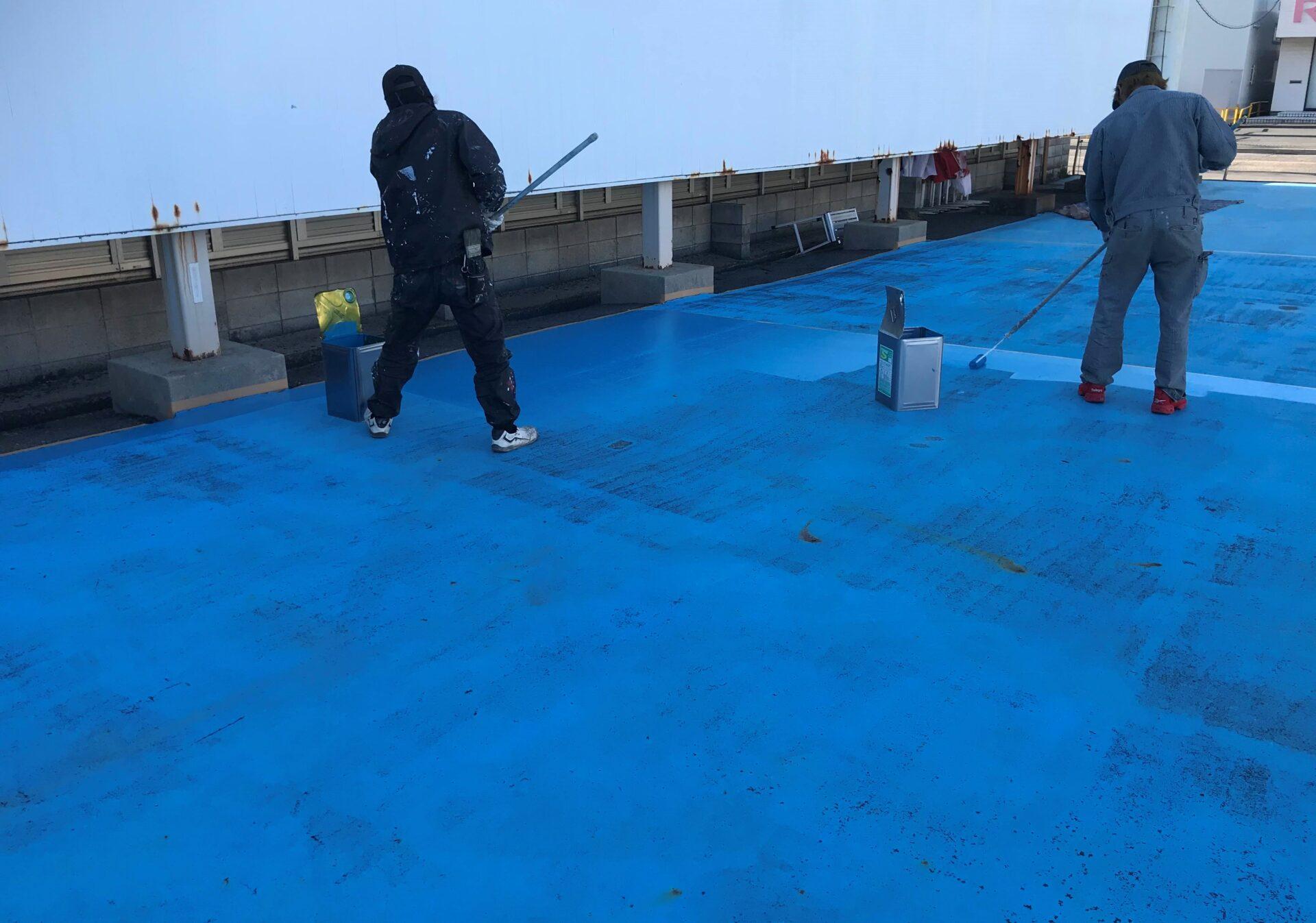 駐車場床塗装画像3