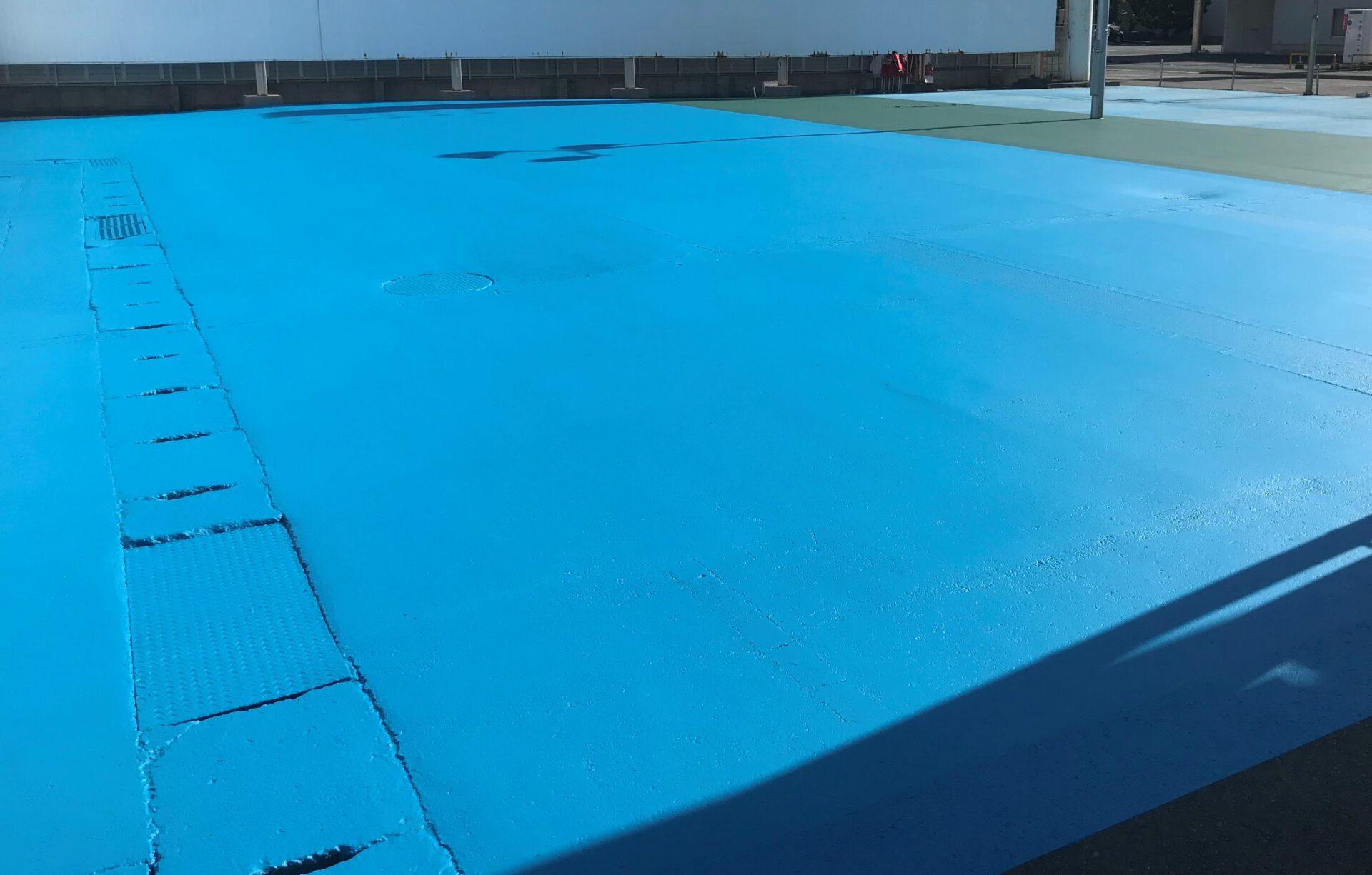 駐車場床塗装画像4