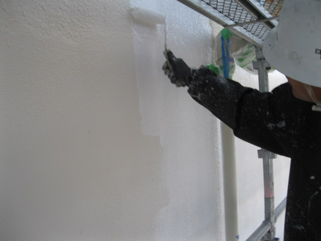 宇部市 アパート外壁塗装工事画像2